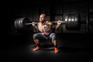 Bodybuilding-Muskeln
